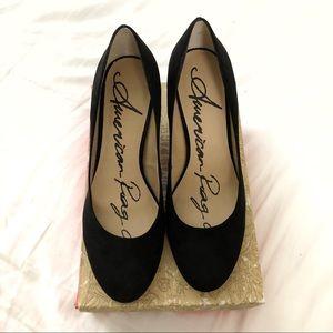 American Rag Black Heels - 9.5
